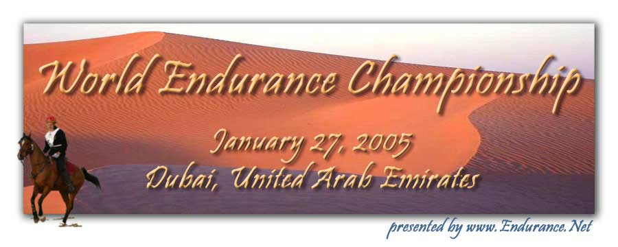 World Endurance Championship, Dubai - UAE, January 27, 2005